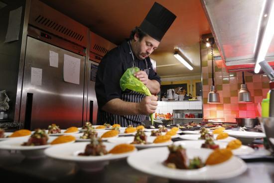 Restaurant Le Serac: Le Sérac restaurant, cuisine fine des Alpes.