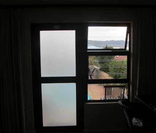 Amber Guest Lodge : Blick aus der Sunset Suite