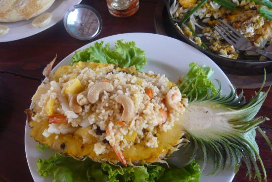 Baan Kai Bae Seafood : Рис с морепродуктами