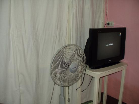 Sea Shell Hut: Телевизор