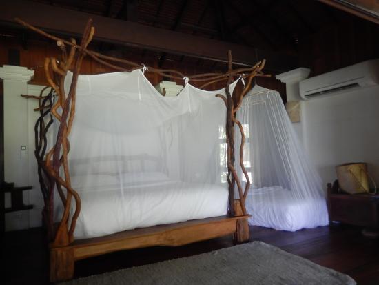 Lit Bois Flotté le lit à baldaquin en bois flotté - picture of koyao island resort