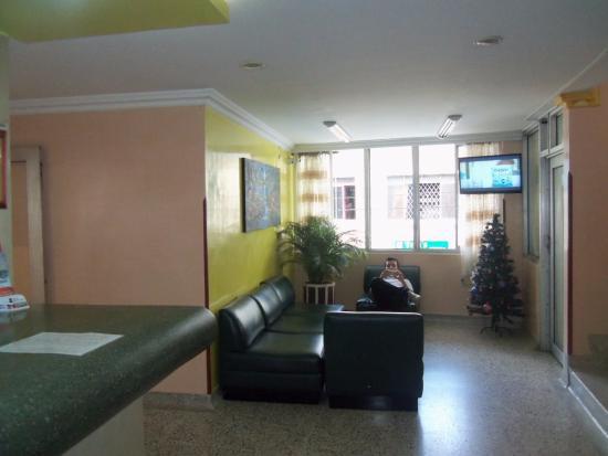 Hotel Embajador: Sala de espera