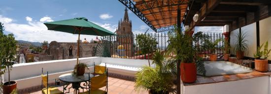 La Morada Hotel: Jacuzzi suite terraza
