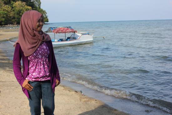 Watampone, Indonesia: dari tempat ini kita bisa melihat pulau sembilan