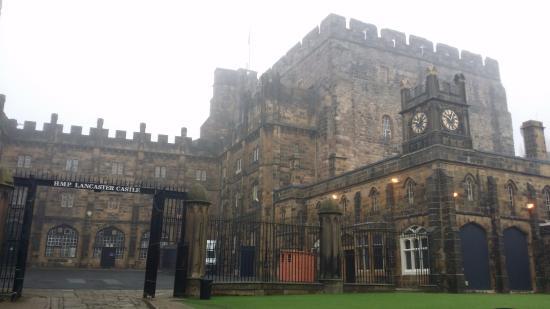 Lancaster Castle : Inside the castle grounds