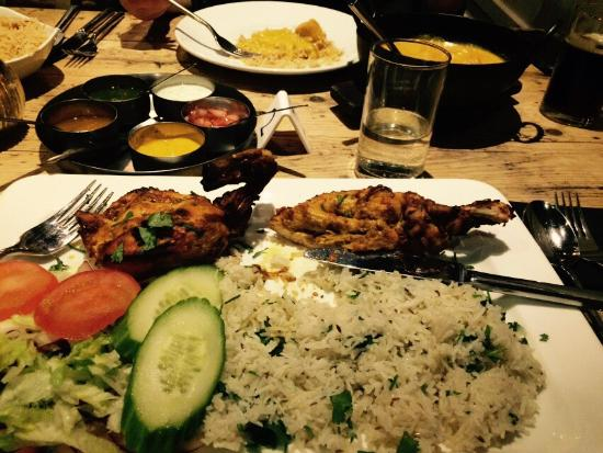 restaurant review reviews taste india newcastle upon tyne wear england