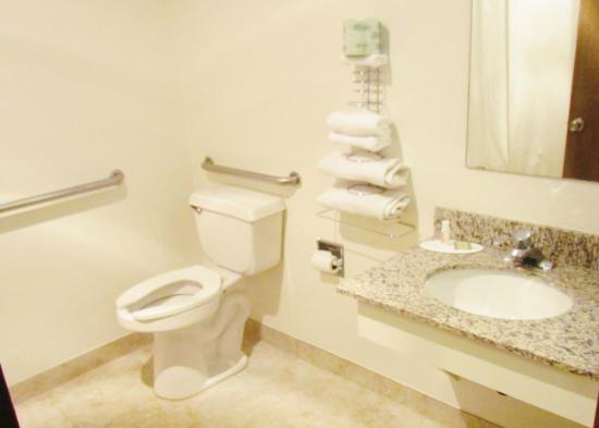 Super 8 Williams East/Grand Canyon Area: Handicap Restroom available