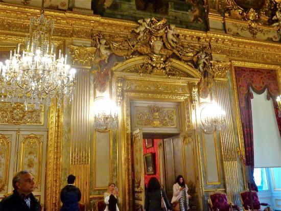 plafond du grand salon Napoléon III  Picture of Musee d
