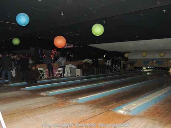 Asbury Lanes: Le piste da bowling