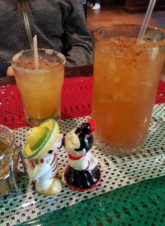 Raritan, NJ: Recently expanded the restaurant and now have full dining area and bar. Great margaritas and mic