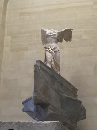 Paris, Frankrike: Winged Victory