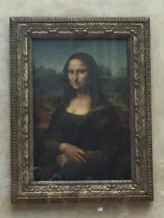 Paris, Frankrike: Mona Lisa
