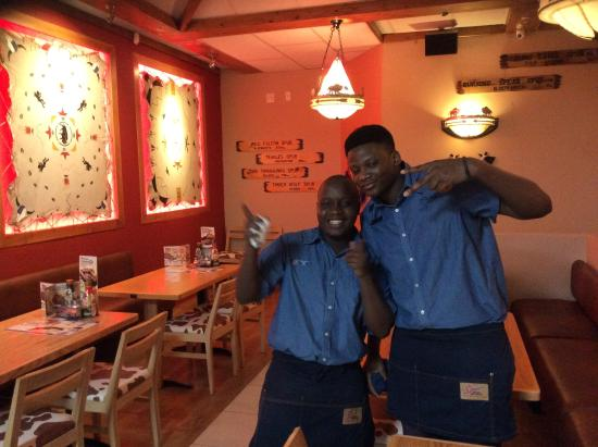 SPUR: Happy and friendly staff