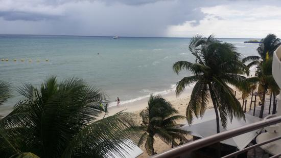 Corto Maltes Ocean Front Luxury Vacation Condos: View from the balcony