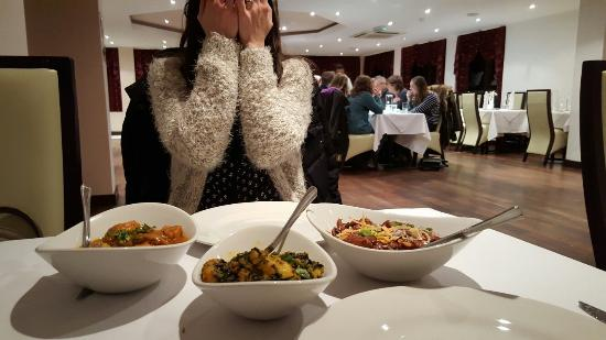 Westbere, UK: Shy wife with great food a d great dinning room