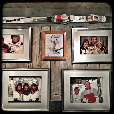 Michel's Christiania Rest : Historic ski photos and memorabilia