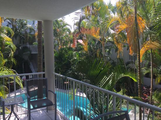 Noosa Outrigger Beach Resort: balcony