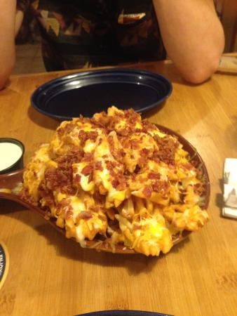 MOOSE McGillycuddy's : Waffle Cheese Fries with Bacon