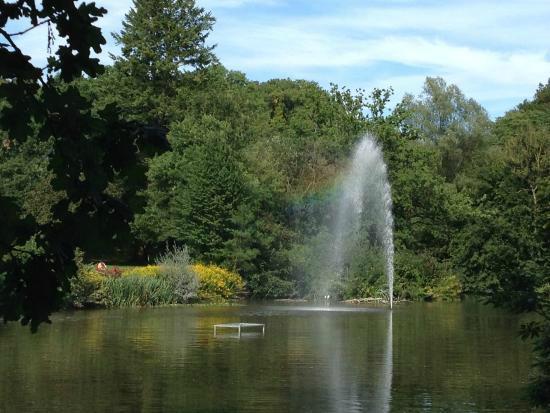 Brakel, Duitsland: Kurpark Kaiserbrunnen