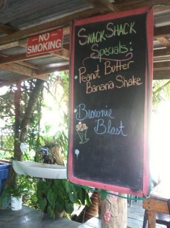 Punta Gorda, Belize: Special drinks!