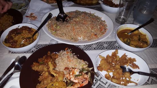 Praneeth Guest House, Mirissa : Abendessen III