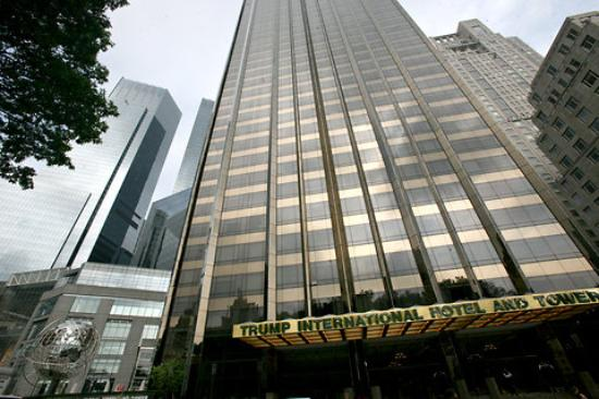 Image result for trump international hotel and tower new york