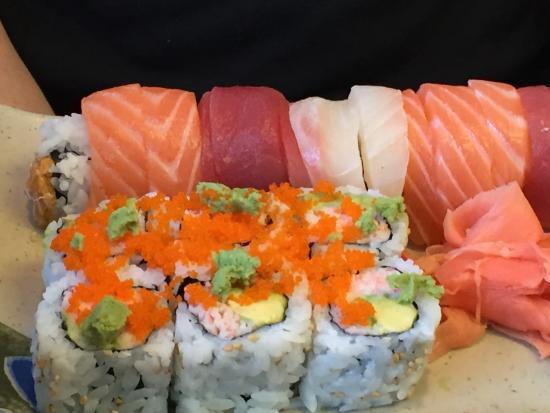 Ichiban Sushi: Alaskan Rainbow Roll