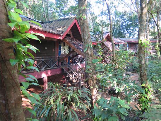 Paksong, لاوس: Les bungalows