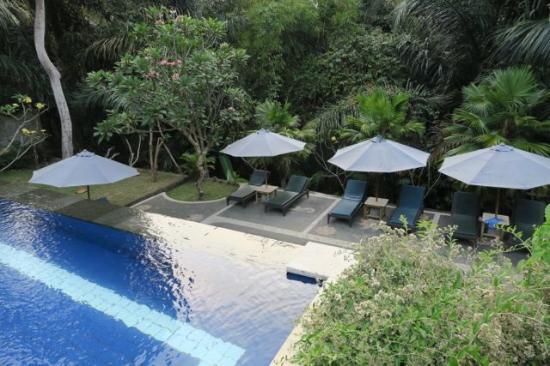 Alas Petulu Cottages: Lower pool