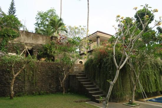 Alas Petulu Cottages: Lower pool level
