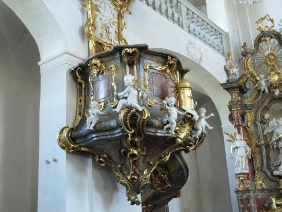 Eltmann, Allemagne : pulpit