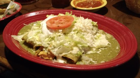 New Market, VA: chicken enchiladas