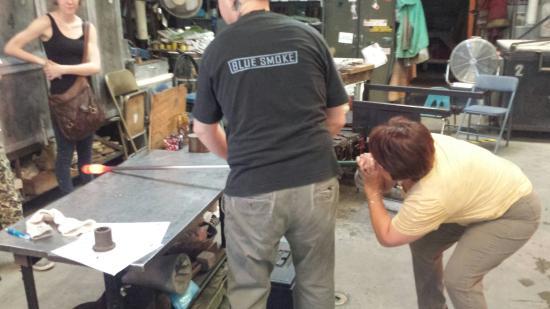 Phoenix Glass Studio & Gallery: Start the bulb