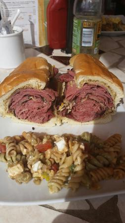 Cafe Brie: Corn beef and pastrami!! Out of this world.
