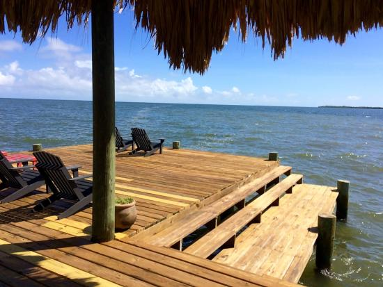 Singing Sands Inn: View from the hammock