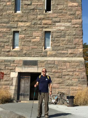 Bear Mountain, NY: Fire tower at Perkins