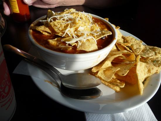 Black Bear Coffee House : Bowl of veggie chili