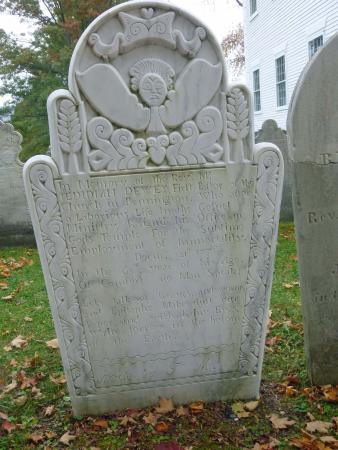 Bennington Centre Cemetery: 1778 Tombstone