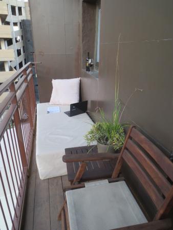 Brown TLV Urban Hotel: balcony