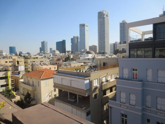 Brown TLV Urban Hotel: from the rooftop