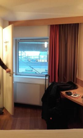 Room 212 looking out over Centraal station