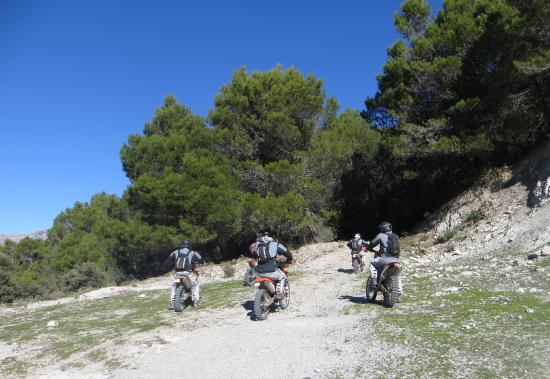 Cortes de la Frontera, Spanien: Riders of the Lost Trail