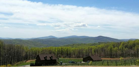Linden, VA: View from deck