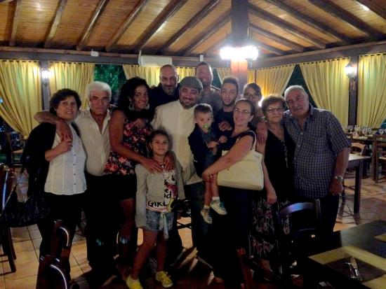 Aci Sant'Antonio, Italia: The family with TOP CHEF