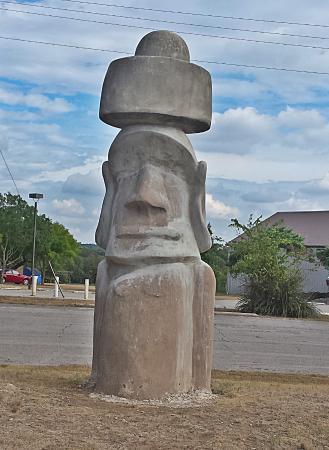 Easter Island Statue - Picture of Stonehenge II, Ingram - TripAdvisor