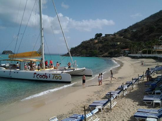 Scoobidoo: Direct embarkation from the Grand Case Beach Club Hotel