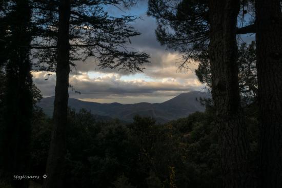 Pitres, Spanyol: Vistas desde el jardin