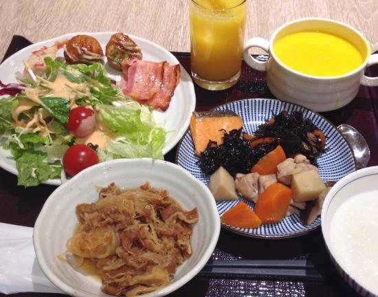 「ホテルマイステイズ新大阪コンファレンスセンター 朝食」の画像検索結果