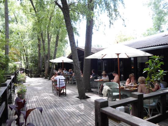 La Becasina Delta Lodge: deck