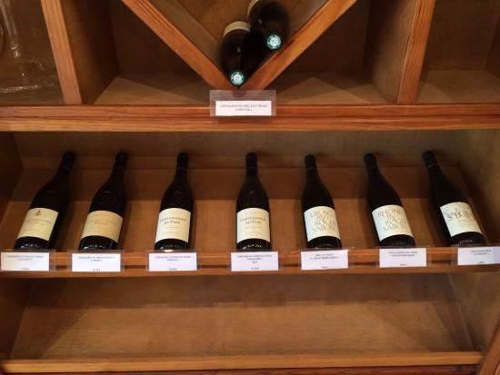 Wine Safari: Wines on the tour